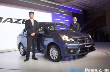 2016 Honda Amaze Facelift Launched, Priced From Rs. 5.30 Lakhs [Live]