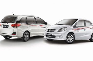 Honda Launches Amaze, Mobilio Celebration Edition In India