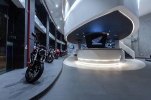 Honda BigWing Showroom Interiors