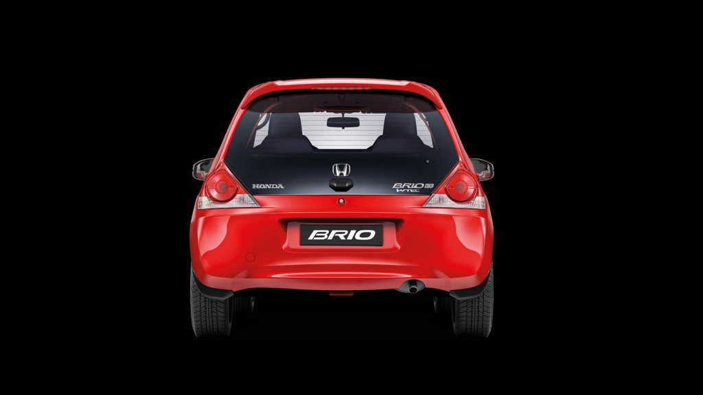 Honda Brio Facelift Rear