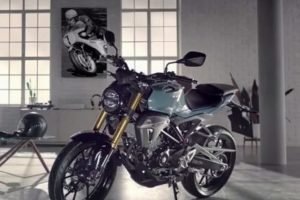 Honda CB150R Front And Side