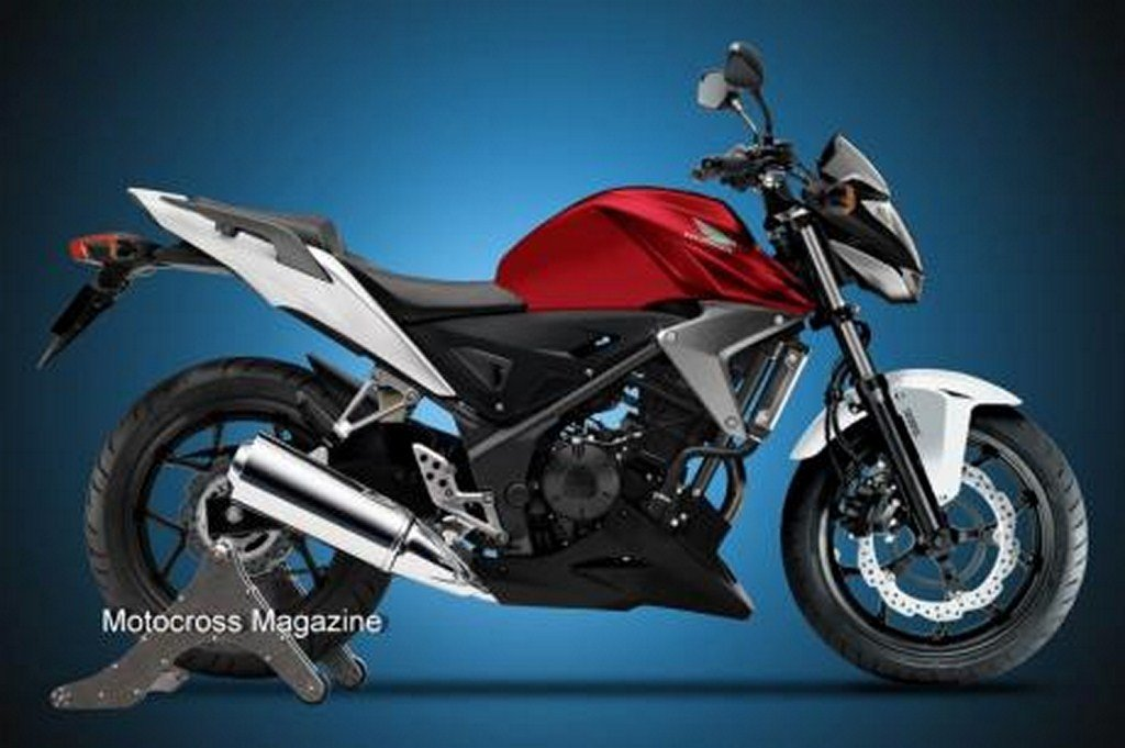 Honda To Launch Cbr250f Naked Streetfighter Motorcycle