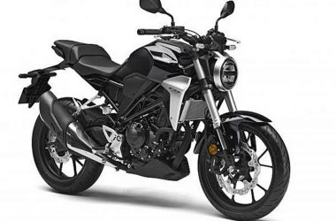 Honda CB300R Front And Side
