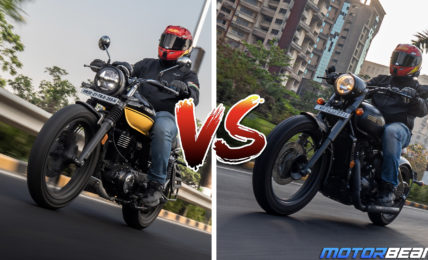 Honda CB350 RS vs Jawa Perak Comparison Video