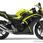 Honda CBR250R Lemon Ice Yellow