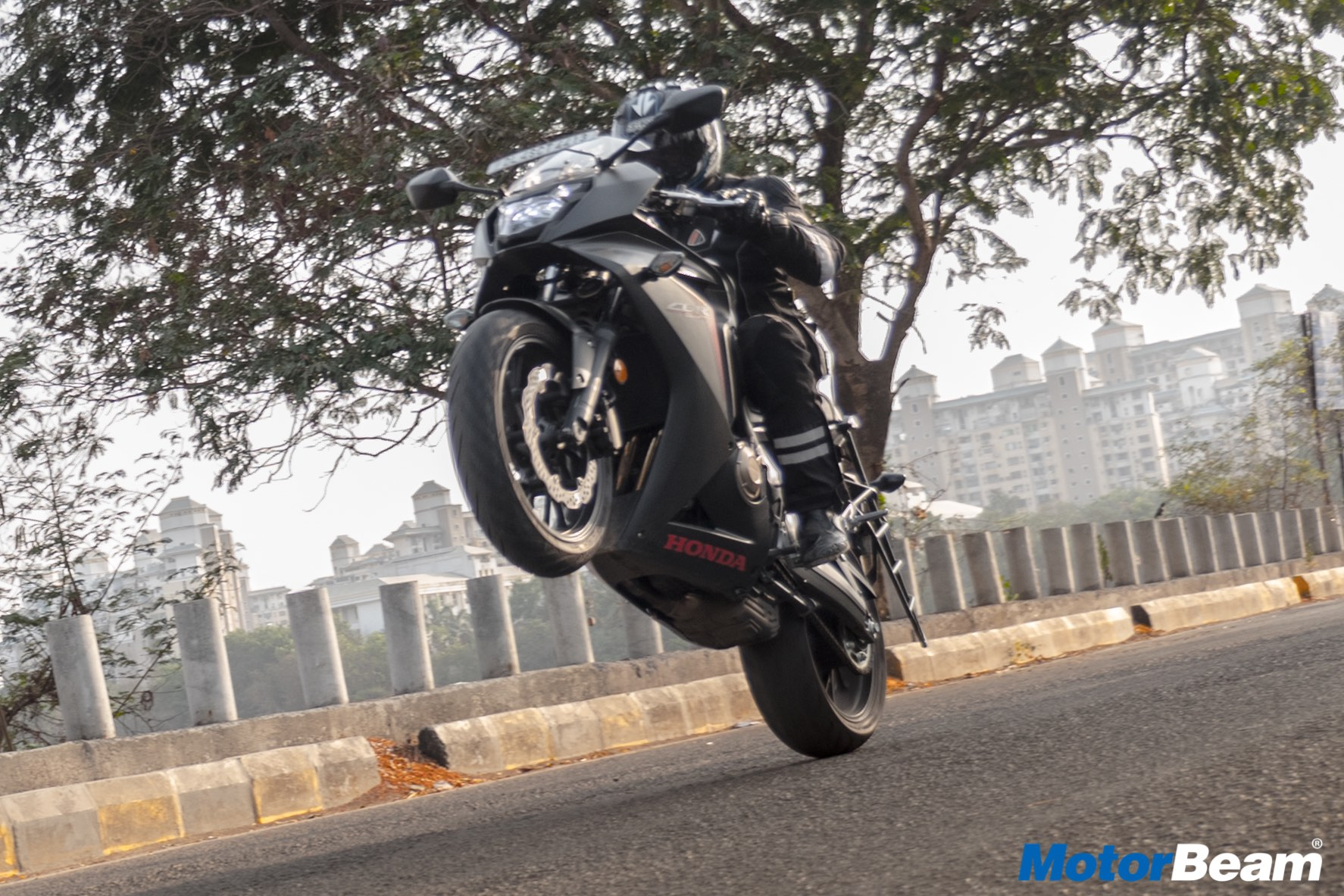Honda CBR 650F Review Test Ride
