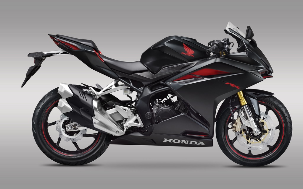 Honda CBR250RR Side Launch Indonesia