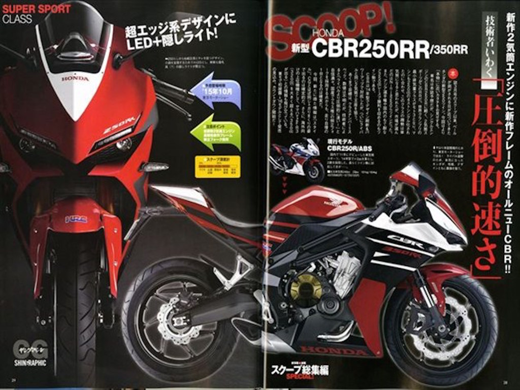 Is Honda Working On CBR350RR Alongside CBR250RR
