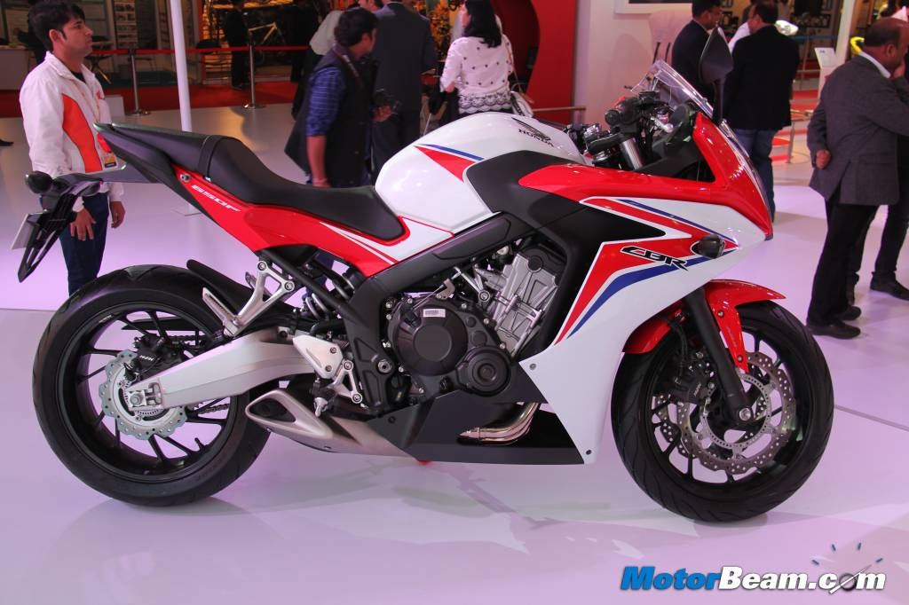 Honda Brings 4-Cylinder CBR650F To 2014 Auto Expo