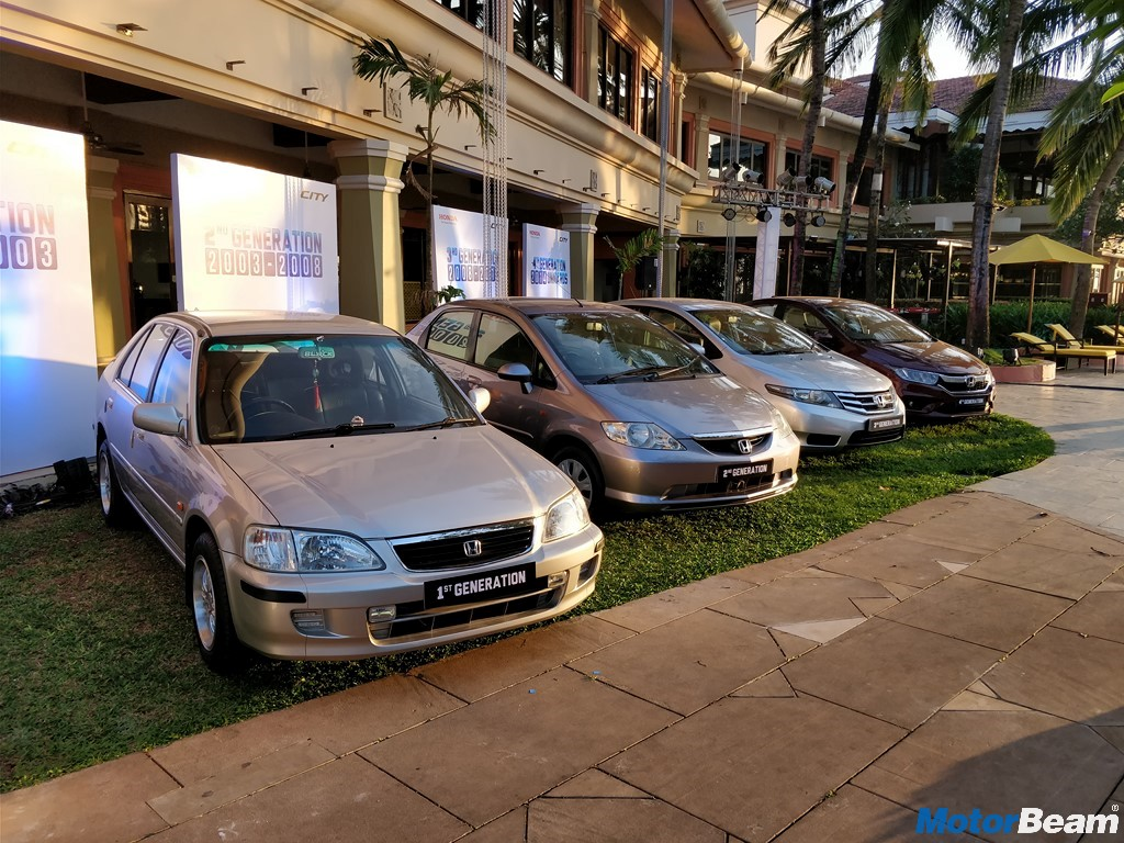 Honda City Generations 1998-2017