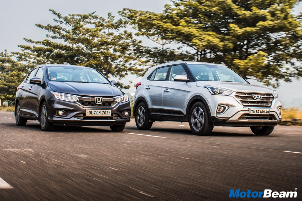 Honda City vs Hyundai Creta Video Shootout