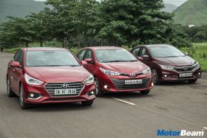 Honda City vs Hyundai Verna vs Toyota Yaris Video Shootout
