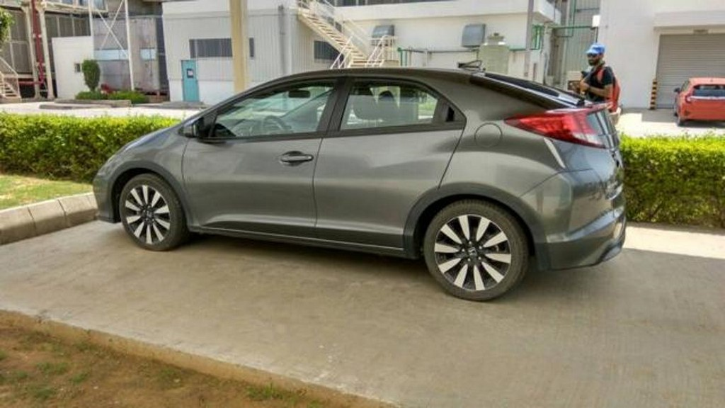 Honda Civic Spotted In India