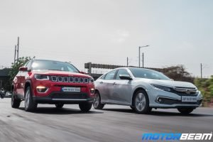 Honda Civic vs Jeep Compass Video