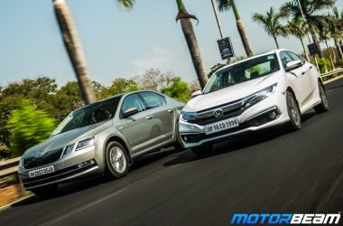 Honda Civic vs Skoda Octavia - Shootout
