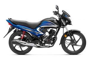 Honda Dream Yuga Black Blue