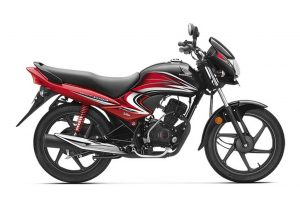 Honda Dream Yuga Black Red
