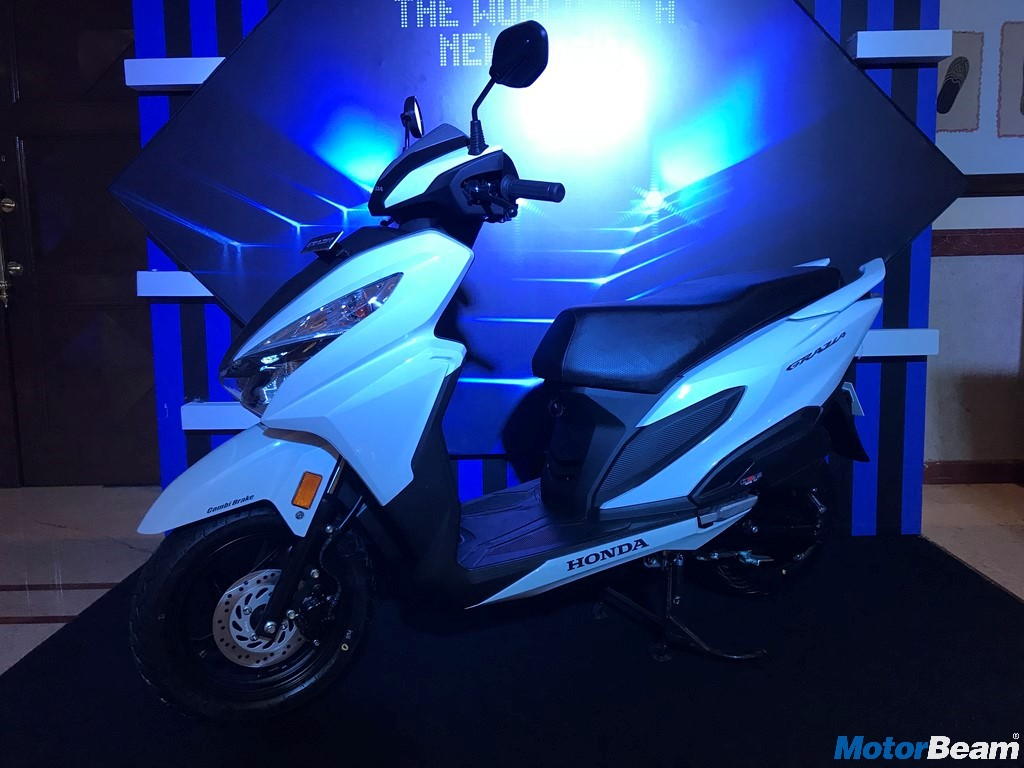 Honda Grazia Launched