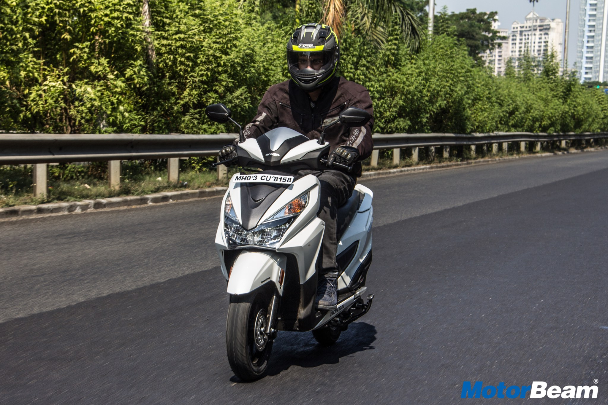 Honda Grazia Report Test Ride