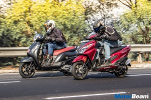 Suzuki Access 125 vs Honda Grazia – Shootout