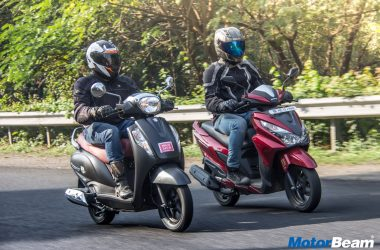 Honda Grazia vs Suzuki Access – Video Comparison