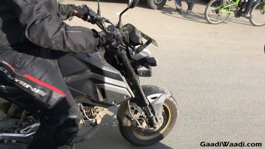 Honda Grom 125cc Spotted In India