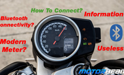 Honda Hness CB350 Connectivity