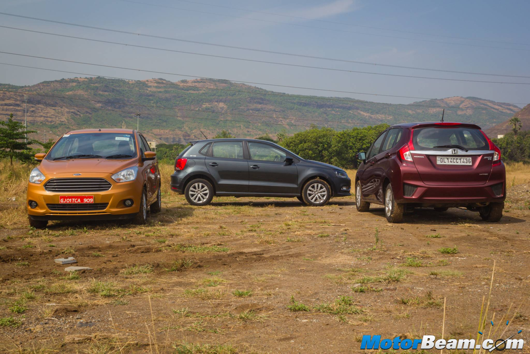 Honda Jazz CVT vs Volkswagen Polo GT TSI vs Ford Figo DCT Shootout