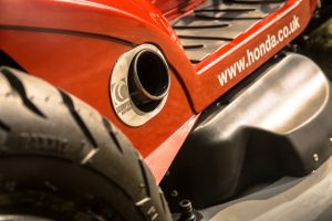 Honda Mean Mower Exhaust
