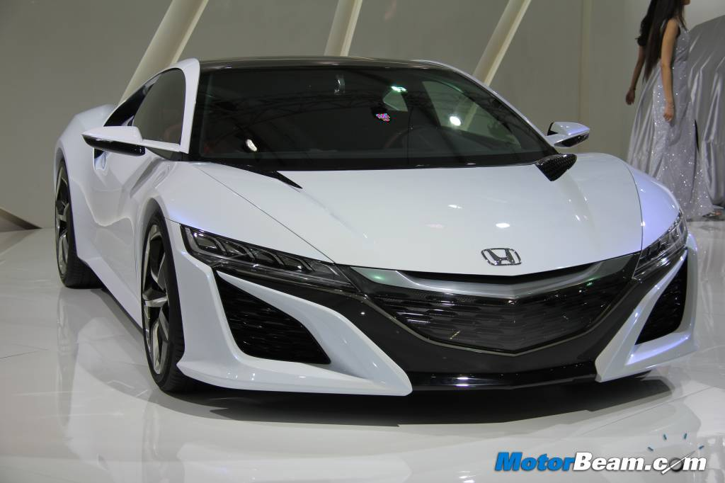 Acura Makes India Debut With NSX Concept At 2014 Auto Expo