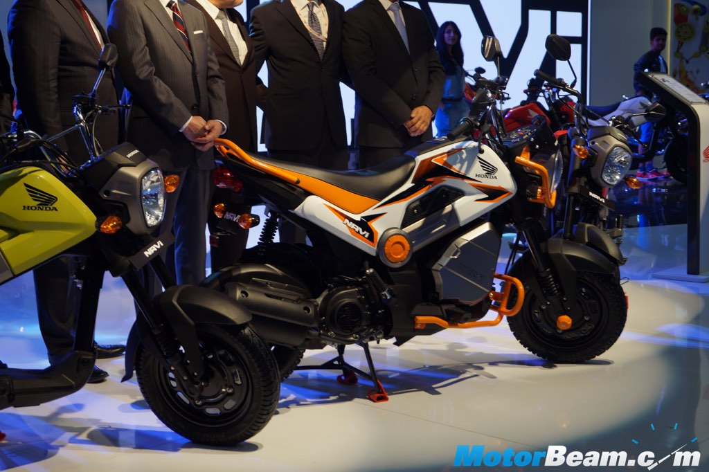 Honda Navi Launched At 2016 Auto Expo Priced At Rs 39 500