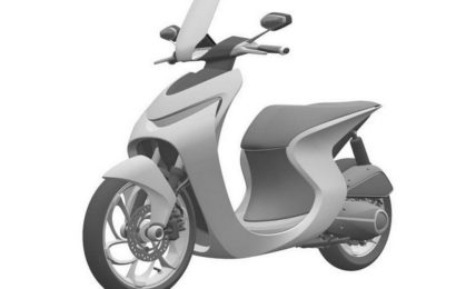 Honda Retro Scooter Concept