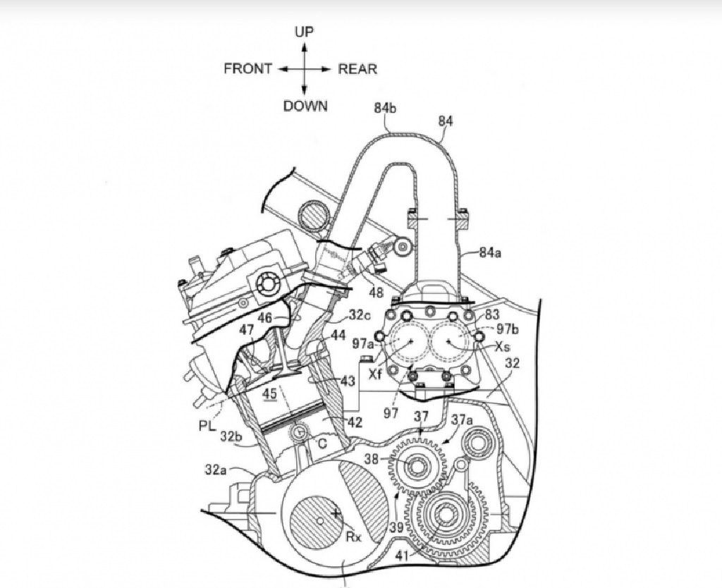 Honda Supercharged ADV Engine Patent