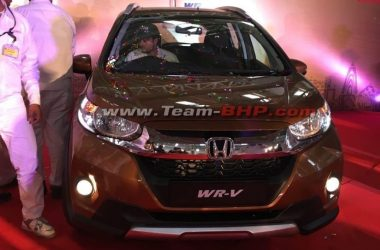 Honda WR-V Production Begins In India