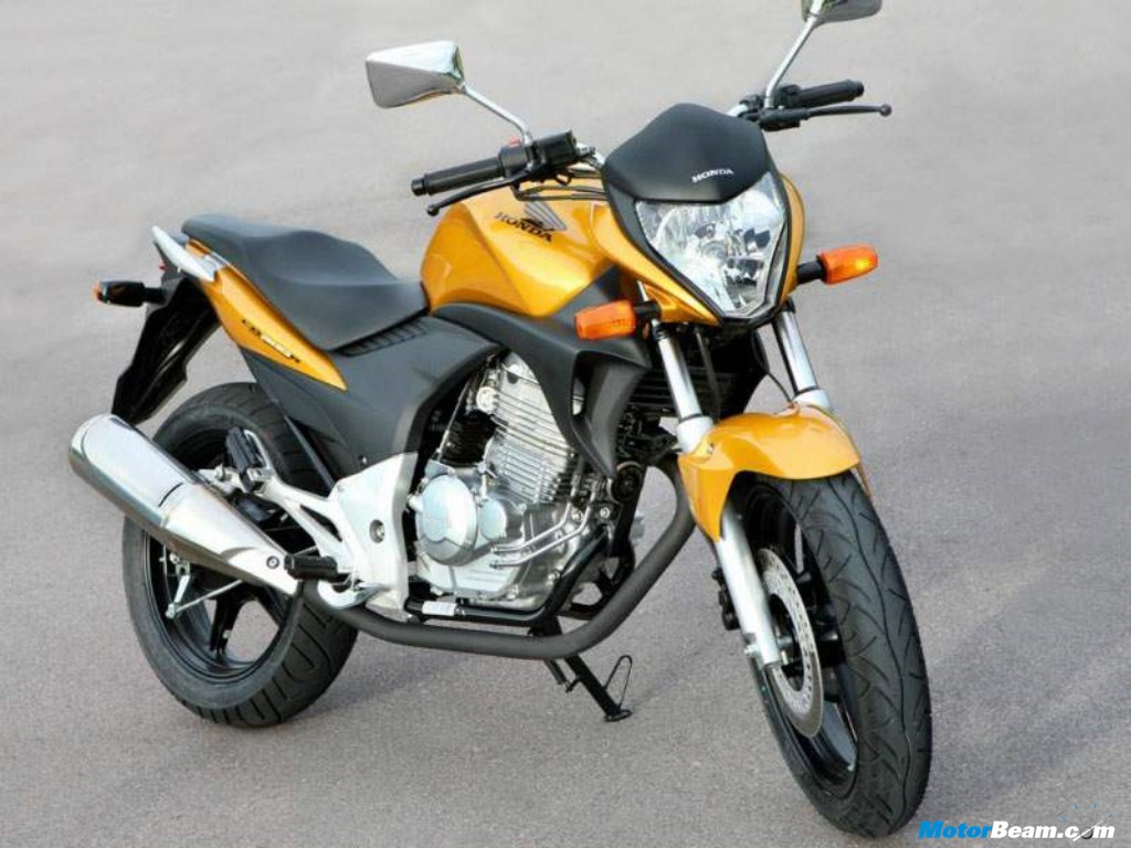 Hondas Upcoming 110cc Bike CB Twister Will Not Compete With Sister Company Hero Splendor And Passion When It Gets Officially Available In The