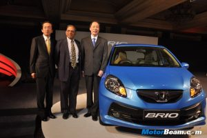 Honda Brio India Launch