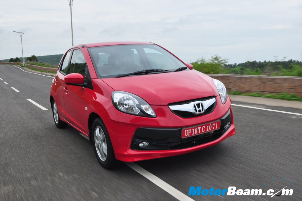 Honda Brio On The Move