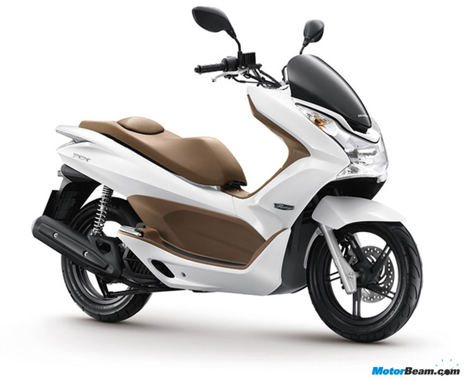 Hondas New Pcx Scooter For Thailand