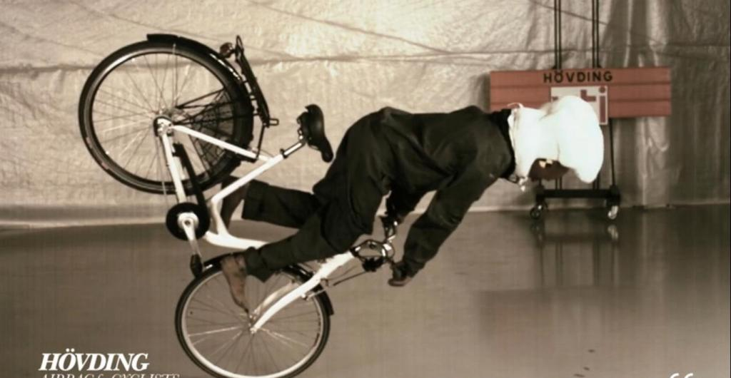 Hovding Invisible Bicycle Helmet Deploy