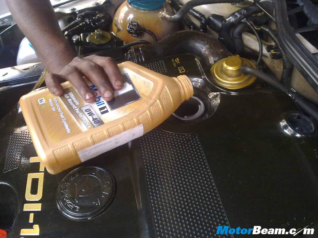 How To Change Oil Add Oil