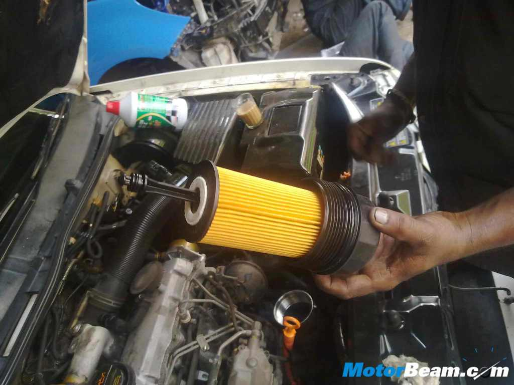 How To Change Oil New Filter