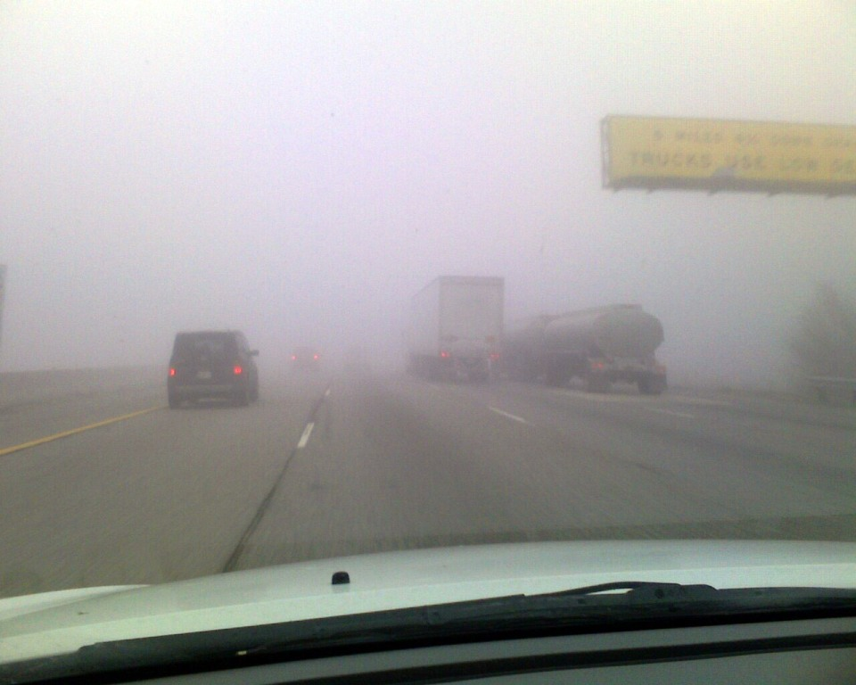 How To Drive In Fog Maintain Speed