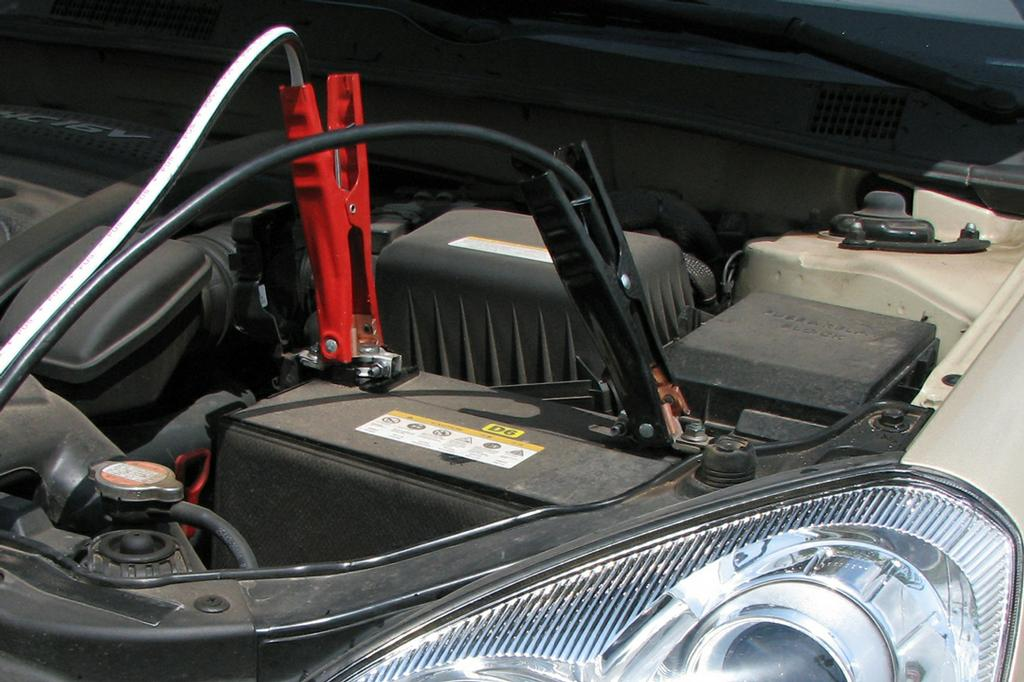 How To Jump Start Battery Connect Terminals