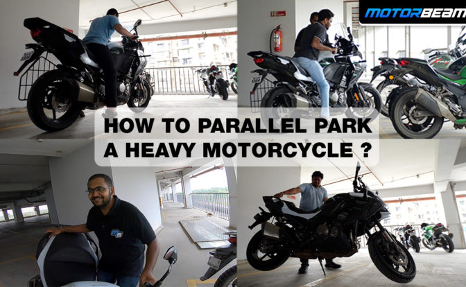How To Parallel Park A Heavy Motorcycle Video