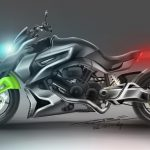 Hyosung ST7 Power Cruiser Concept Sketch