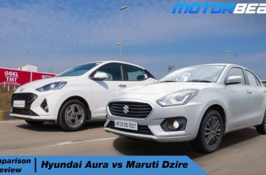 Hyundai Aura vs Maruti Dzire - Hindi