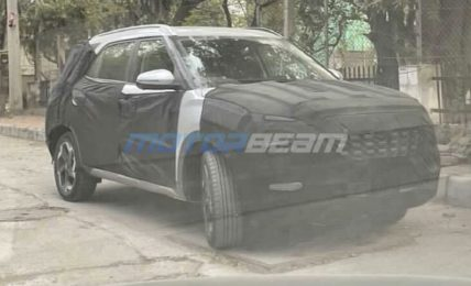 Hyundai Creta 7-Seater Spotted Front