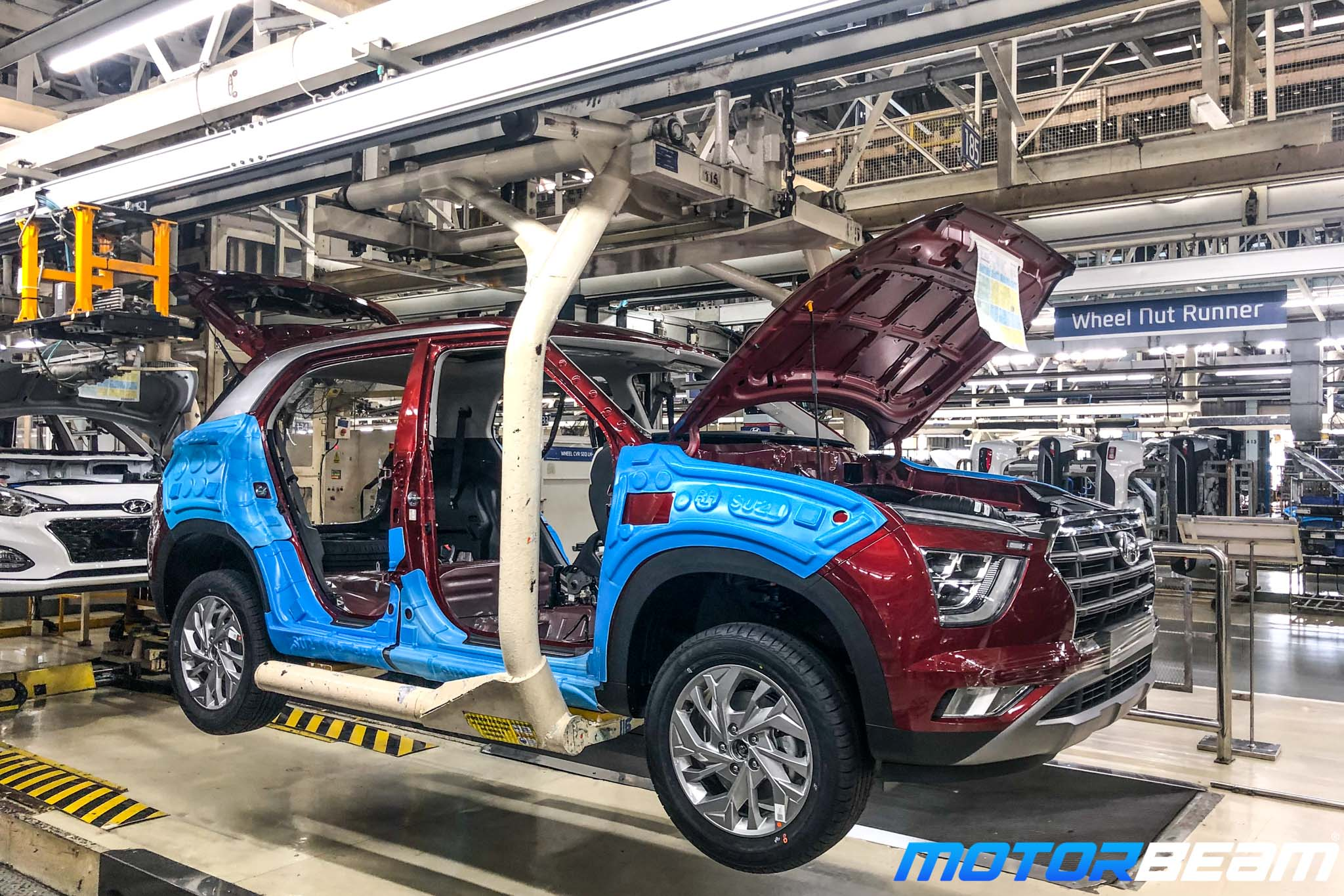 Hyundai Creta Assembly Line
