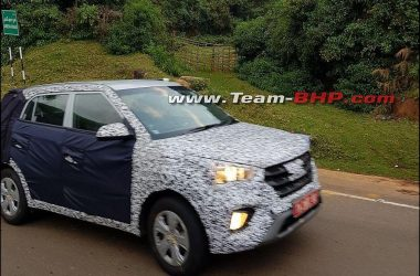 Hyundai Creta Facelift Side Profile