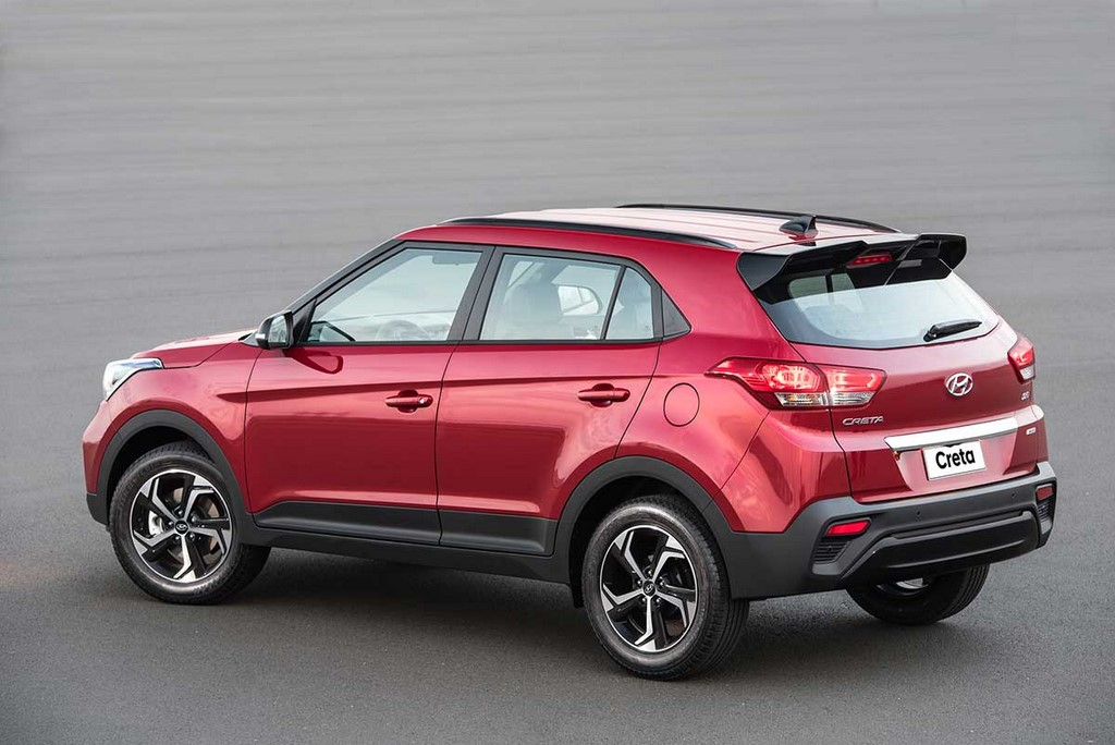 Hyundai Creta Sport Side Profile